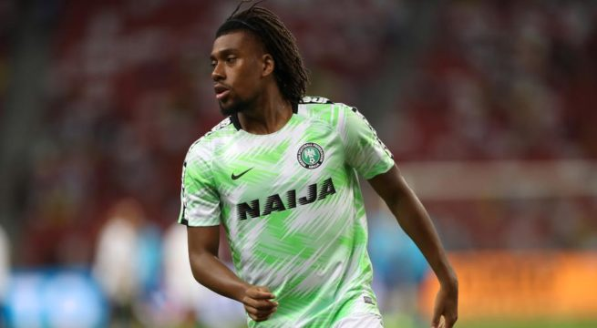 CAF Okay Iwobi For Super Eagles Vs Lesotho