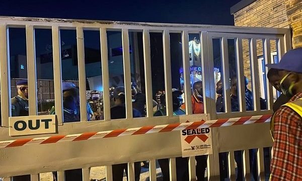 Police Raid Cubana Night Club, Arrest over 200 Clubbers