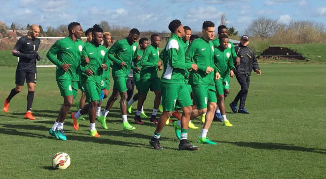 19 Super Eagles Players Arrive Camp For AFCON Qualifiers, Begin Training Tuesday