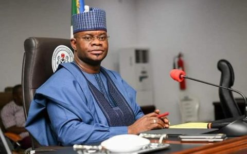 Gov Yahaya Bello Sues for Equal Pay for Super Eagles, Falcons