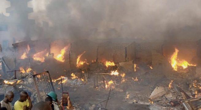 Midnight Fire razes Popular Ibadan Auto Parts Market
