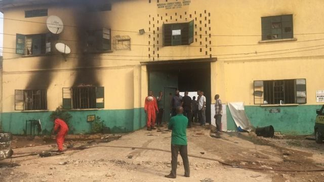 Imo Prison Attack: 6 Inmates Returned, 35 Refused to Escape – Prison Service Chief