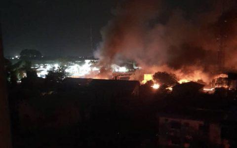Prisoners Set Free as Gunmen Set Owerri Prison Ablaze (Video)