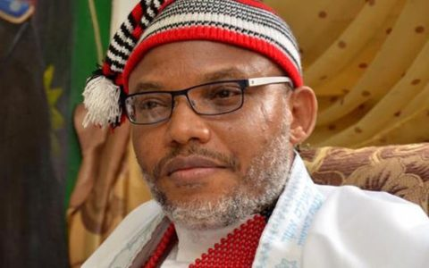 Nnamdi Kanu, the leader of the Indigenous People of Biafra has expressed stern resolve to achieve an independent state of Biafra.