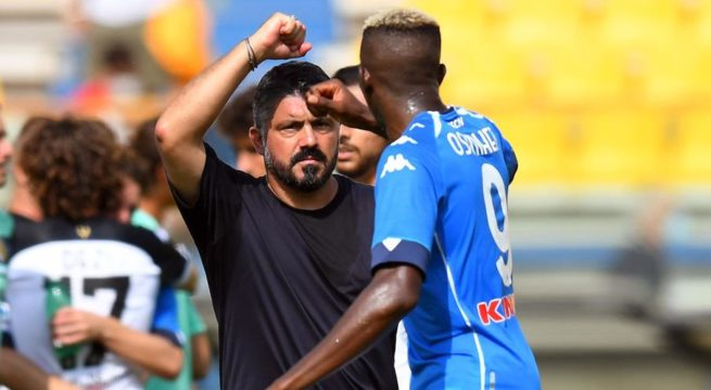 Osimhen Urges Napoli to Keep Battling for Top Four Finish