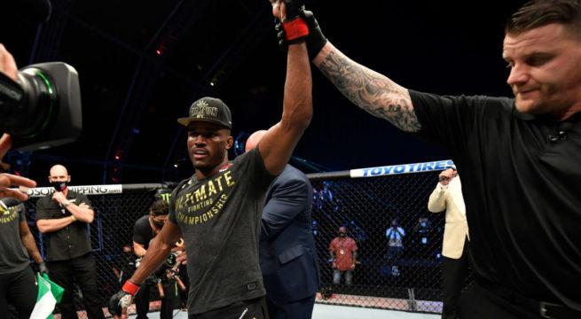 UFC: Nigeria's Usman Beats Masvidal to Retain Welterweight Title