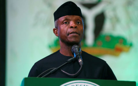 Osinbajo Calls on Media to fight Fake News