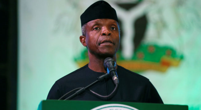 Osinbajo Calls on Media to fight Fake News