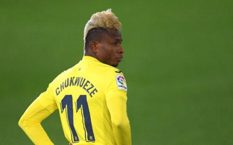 Villarreal's Samuel Chukwueze scores in Crunchy Tie Against Barcelona