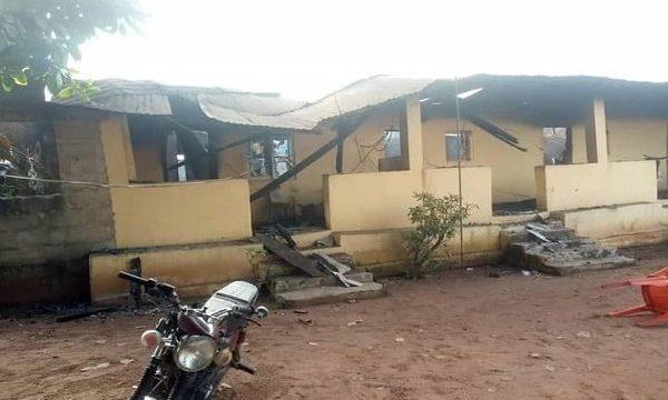 BREAKING: Gunmen Attack Police Station in Abia