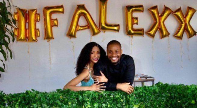 Nigerian actor Alex Ekubo proposes to Girlfriend