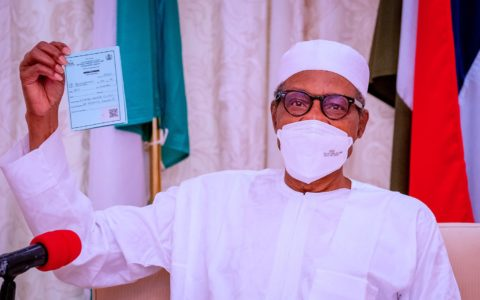 Buhari Receives Second Jab of COVID-19 Vaccine