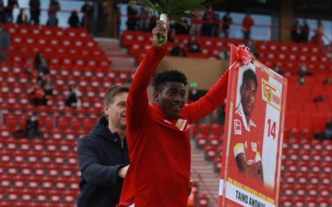 Union Berlin Bids Awoniyi Farewell With Special Award