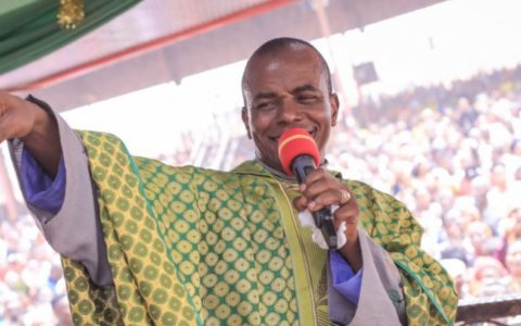 Buhari Govt Attacking me for Blessing Nnamdi Kanu – Fr Mbaka