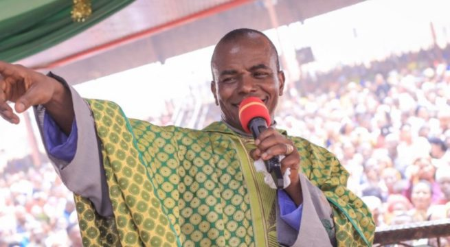 Buhari Govt Attacking me for Blessing Nnamdi Kanu – Fr Mbaka