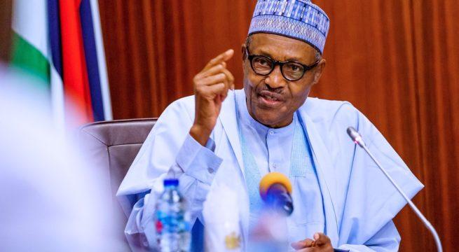 Presidency Explains Buhari's Absence at Late COAS Burial