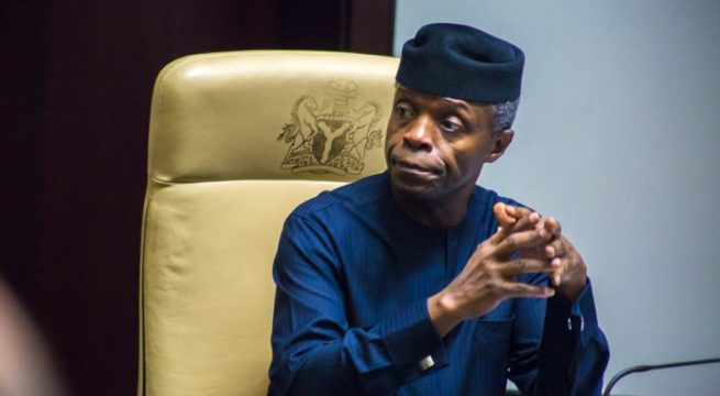 'Gallantry of Our Heroes will Always be Remembered' - Osinbajo mourns officers killed in air crash