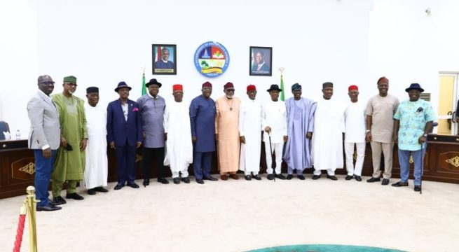 Southern Governors Demands for State Police, National Dialogue