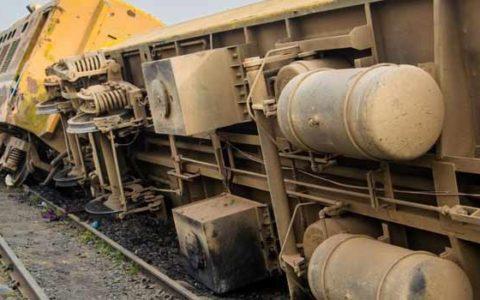 Zaria Bound Train Derails in Kaduna