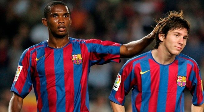 Barcelona hero Samuel Eto'o has insisted that Lionel Messi will continue to remain with the club. Recall that Eto'o and Messi played alongside one another when the Argentine's career was still on the up, and the elder of the two has nothing but praise for his character.