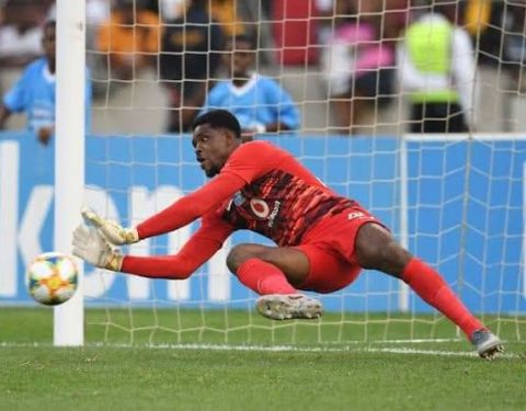 Akpeyi Named MOTM in Kaizer Chiefs' C/League Clash Against Wydad AC