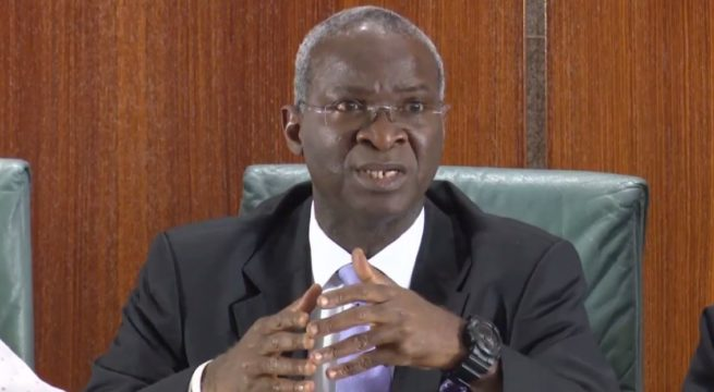 Borrowing Is Good For Nigeria– Fashola