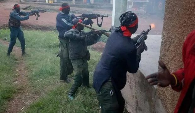 BREAKING: One Dead as Security Operatives Foil Unknown Gunmen Attack on Imo Police Command Headquarters