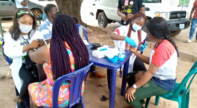 World Refugee Day: Red Cross, NCFRMI, SCORP organizes free medical outreach in Enugu