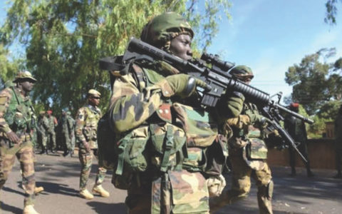 Nigerian Army Arrest Bandit in Military Uniform With Charms Heading to Oyo State