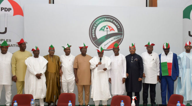 PDP Govs Lampoon Buhari Over Huge Debt Profile, CBN's Operations