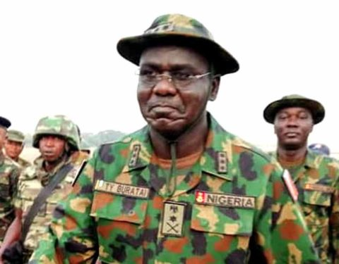 Breaking: Ex-Service Chiefs Buratai, Olonisakin Get Letters of Credence