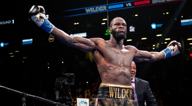 Deontay Wilder Traces Roots to Edo state, Pledges to Visit Nigeria Soon