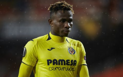 Chukwueze Resumes Training After Two-months Injury Sideline