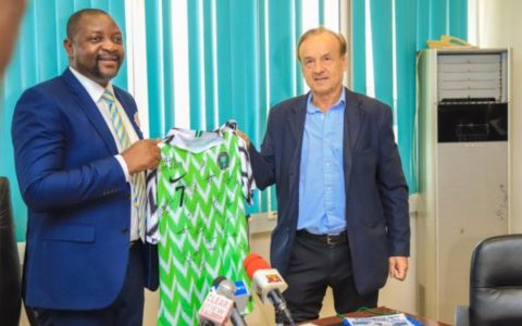 Shut Up and Work, Sports Minister Fires Rohr