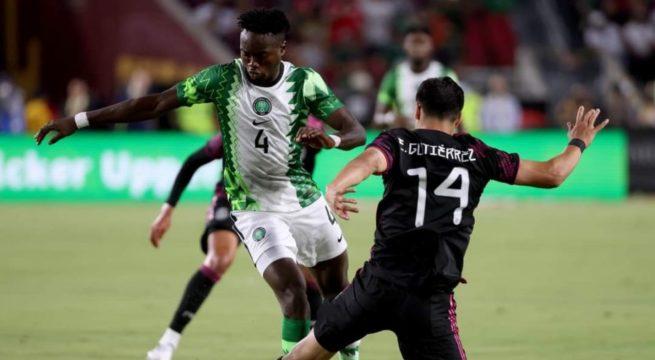 Mexico Thrash Super Eagles 4-0 in US Friendly