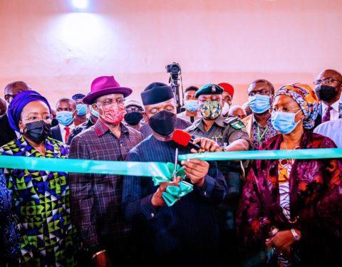 Osinbajo Inaugurates Shoe-Manufacturing Hub In Anambra