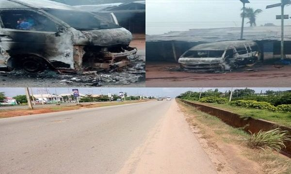 Two Feared Killed, Vehicles Burnt in Nnewi