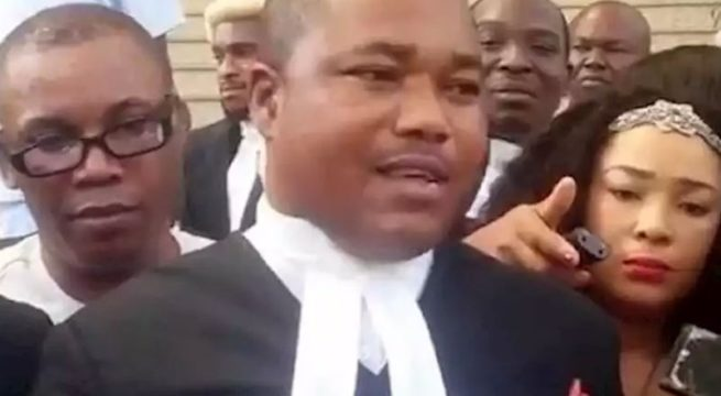 DSS Forced Kanu's Lawyers to Wear Slippers - Ifeanyi Ejiofor