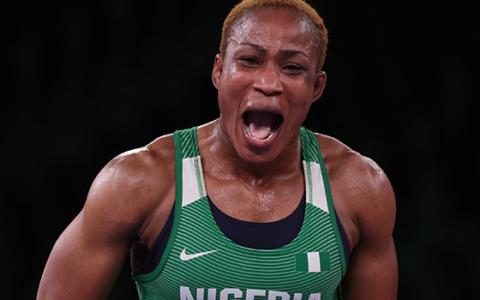 Olympics: Nigeria Assured Medal As Wrestler Oborududu Qualifies For Final