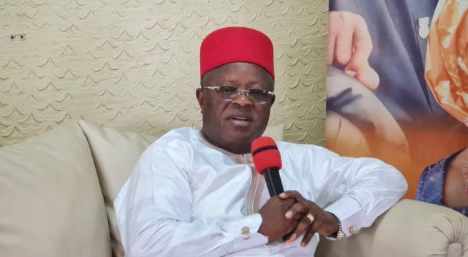 South East Loses ₦10 Billion Every Sit-At-Home Day - Umahi