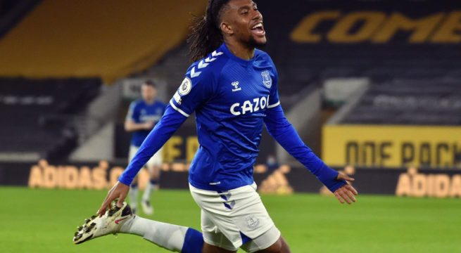 Iwobi's Goal Nominated For Everton Goal Of The Month Award