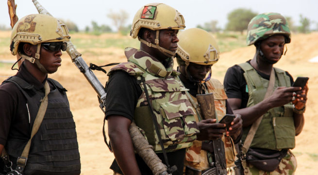 Troops Raid Markets Where Terrorists Buy IED Materials to Make Explosives