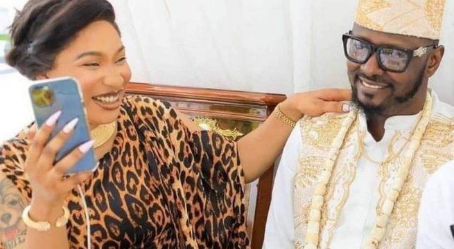 Tonto Dikeh's Ex-Lover Drags Film Star, DSS To Court, Seeks N10billion Compensation