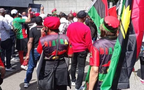IPOB Declares War on Hoodlums Enforcing Sit-at-home on Mondays
