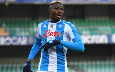 Osimhen's Scores to Secure Napoli's Eight Straight Wins