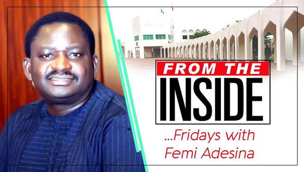 Weighty Matters About Our Country By Femi Adesina