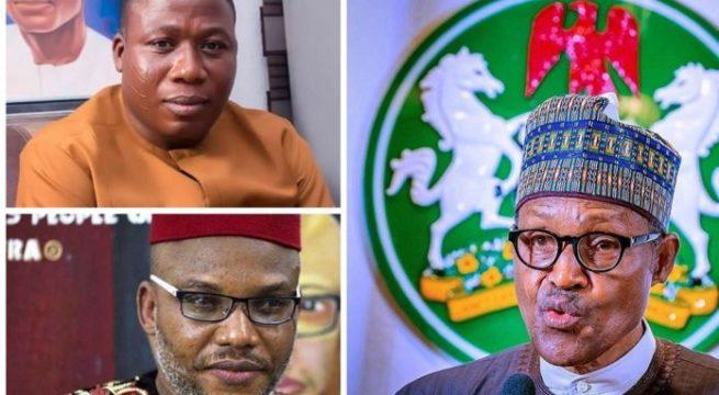 Buhari Reveals Identity of Igboho, Kanu Sponsors
